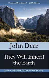 "Cover of John Dear's book: ""They Will Inherit the Earth."""